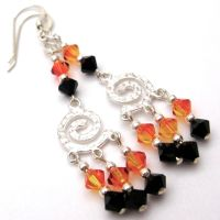 Halloween Earrings by AmysBodyDecor