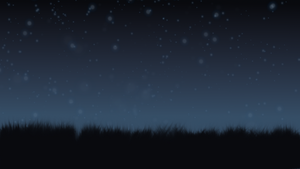 Free to Use - Night Field Background by Kitta-Furen
