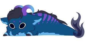 My new Drablob: No Name Yet by Winter-Hooves