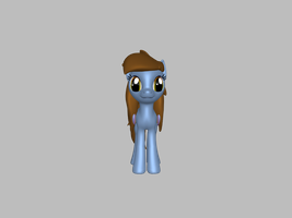 3D bluepony 1 by Andrea-Perry