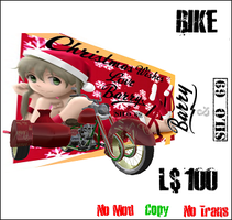 Christmas Wishes bike by truemouse
