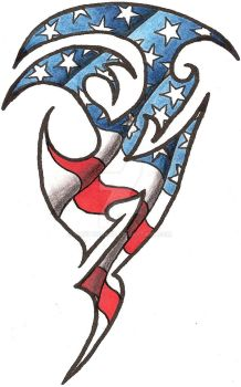 Tattoos favourites by wolfhogen on deviantart for Patriotic tribal tattoos