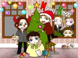 SPN : What do you wish  for Xmas? by FlippyFaye