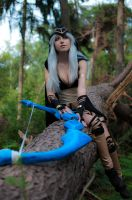 Ashe Cosplay - League of Legends by AnissaCosplay