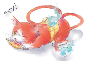 Jibanyan by Vether