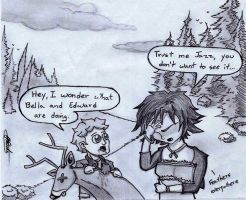 Twilight Breaking Dawn Parody by Grafiquero