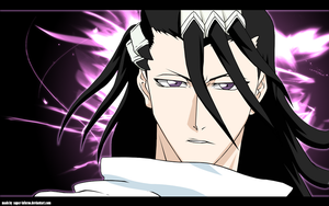 BLEACH: Kuchiki Byakuya color by super-inferno