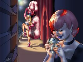 Voodoo Showgirl by DovSherman