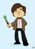 The Eleventh Doctor by striffle