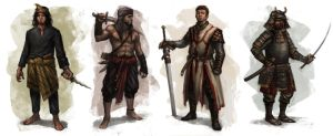 Swordsmen by lordbaells