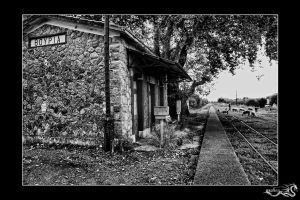 old train station by archonGX