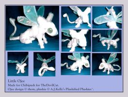 Ojee Plushie --- Iraollos by RadiantGlyph