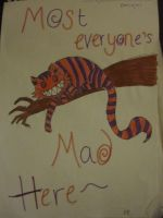 Mmm Cheshire Cat by b-a-d-a-ss