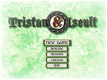 Tristan et Iseult main menu by Renmiou
