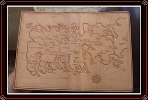 Map of Westeros book Cover by Isinglass-Industries