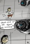 Portal 2, doodles 2 by Ayej