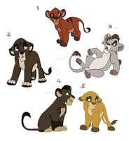 Cub Adoptables CLOSED by MikasAdoptables