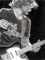 Keith Urban and Guitar by Catluckey