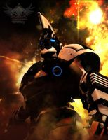 Enter Ares MECH series X1 by mestophales