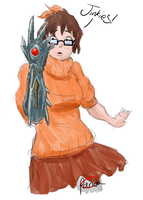 Witchblade Velma by Commie-Panda