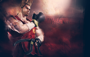 Paul Phoenix wallpaper by dr-giddy