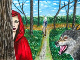 The beaten path by Abuttonpress2Nothing