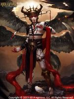 Hellfire Archangel Lucifer by GiddyGriffin