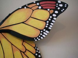 Monarch Butterfly wings  Adult by KimsButterflyGarden