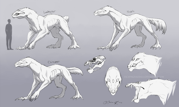 Creature concept by EscapingValhalla