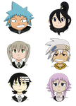 Soul Eater Busts by Shannohn