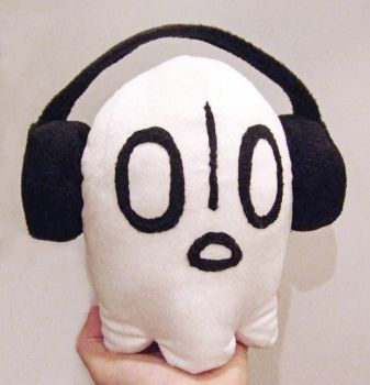 Napstablook palm size plush by scilk