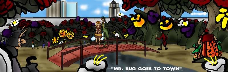 Mr. Bug goes to Town tribute by GearGades