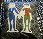 Murder Husbands Pillow by RanebowStitches