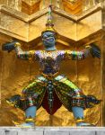 Temple statue by Rivendell-PhotoStock