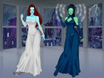 Wraith Queens by DarthCrotalus