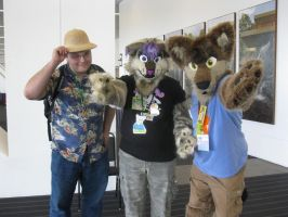 Dumbluck, Impostor Jingles, and Zippy Coyote by Rennon-the-Shaved
