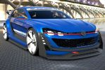 New volkswagen Vison GT by NightmareRacer85