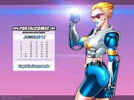 Captain Commando by PortalComic