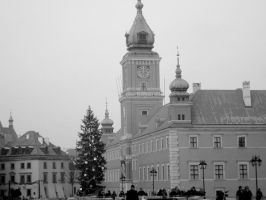 an old city in warsaw by smallone1989