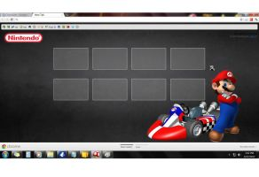 my browser1 with mario cursor by afronoodles