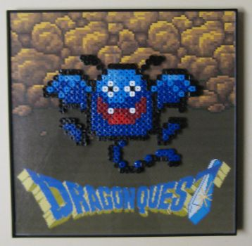 Perler Draky from Dragon Quest by Dlugo1975