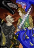 Eragon vs Galbatirx by moehawk37