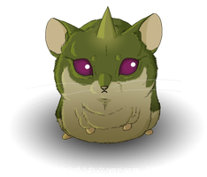 Amaimon Hamster by Vencentio
