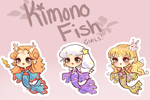 KimonoFish Adopts Batch#5! :OPEN!!! by Getanimated