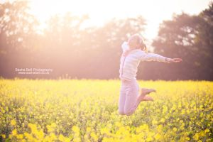 I Love the Sunshine by thesashabell