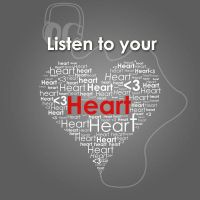 listen to your heart by megroupdesigner