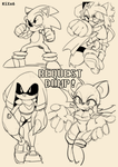 Sonic Doodles : Request Dump by KiXx6