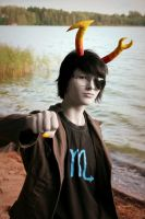 Male Vriska cosplay by Doomega