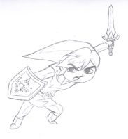 Toon/Four Swords Link by shadow-wolf04