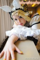 Kagamine Rin: +Lonely+ by DemoiselleCourtoisie